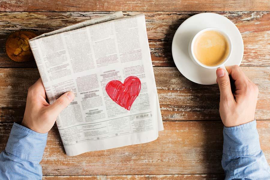 Jobseeker who found love via ad, finds job the same exact way...