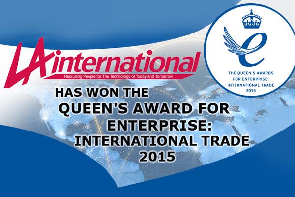 LA International honoured by the Queen