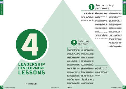 4 leadership development lessons