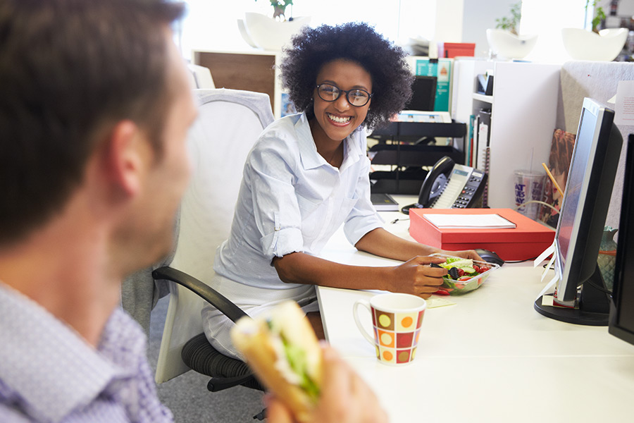 Lunchtime habits of UK workforce revealed