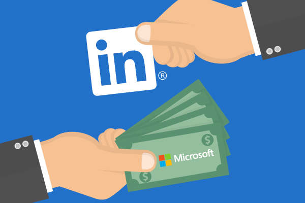 Microsoft announces LinkedIn acquisition