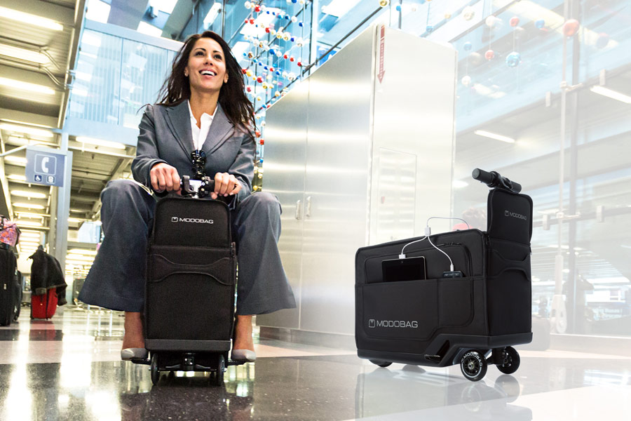 Review of the Week: ModoBag, the world's first motorised suitcase