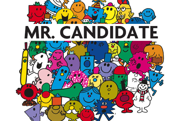 Mr Men CV catches recruiter's attention