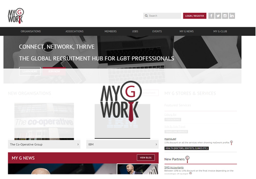 Recruitment and networking site for LGBT people launched