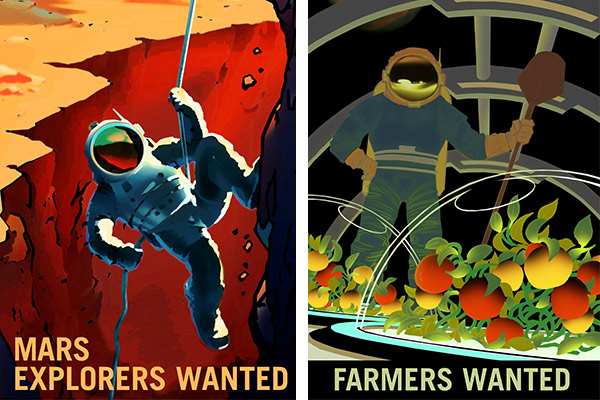 NASA launches rec posters aimed at adventurous jobseekers