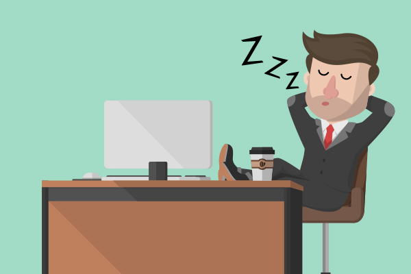 One in six Brits admit to napping at work