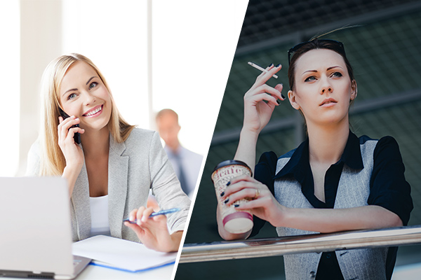 Why smokers are worse off in the workplace