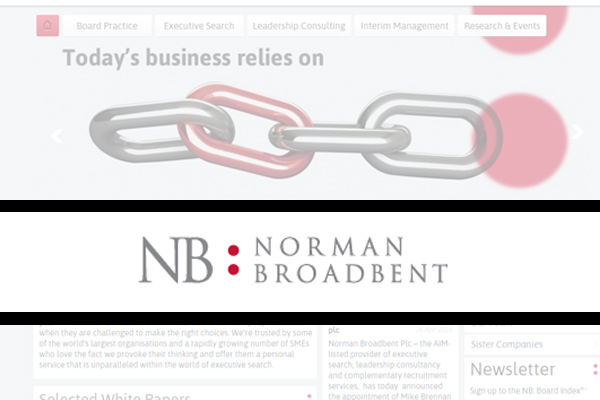 Norman Broadbent appoints new Group CEO
