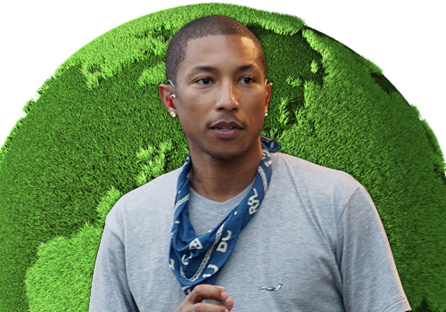Pharrell Williams urges world leaders to deliver green jobs