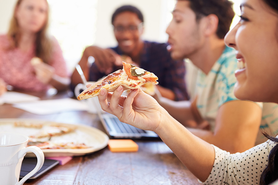 The reason pizza, NOT money, is the key to improving productivity...