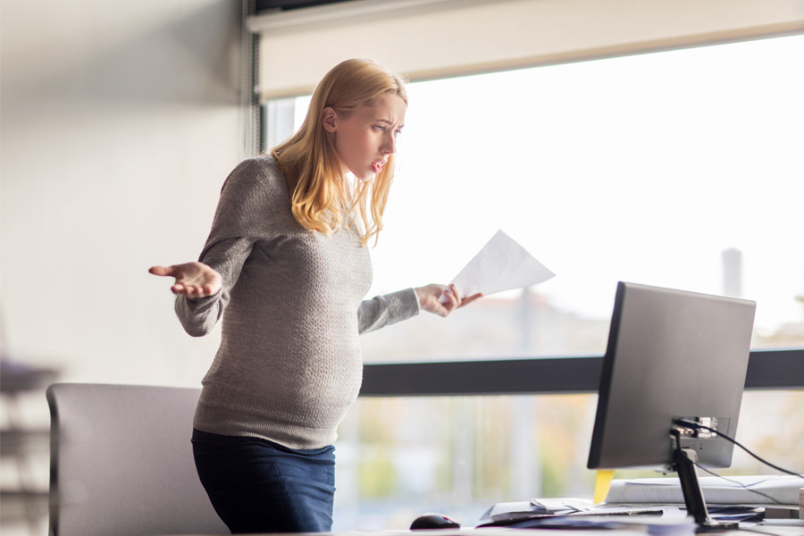 The worst comments pregnant women have heard at work