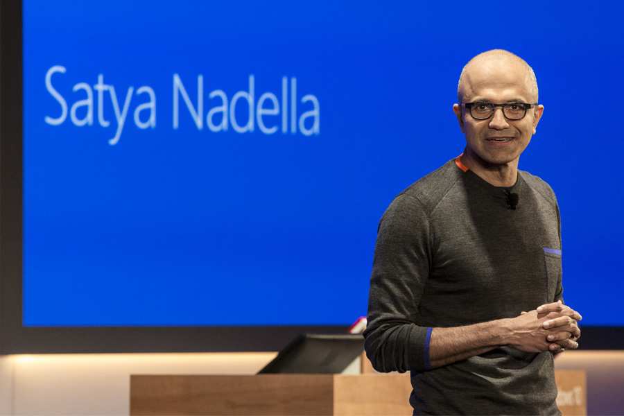Microsoft CEO Satya Nadella receives huge performance bonus