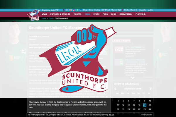Scunthorpe United appoints new Head of Recruitment