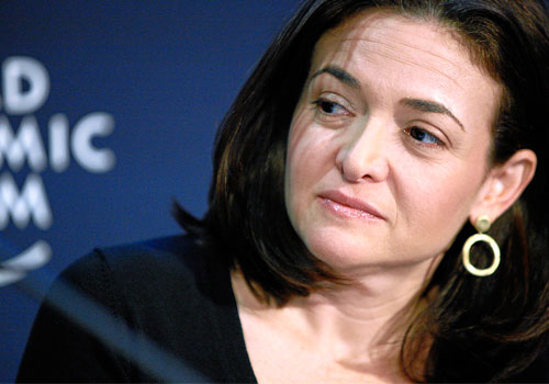 Facebook COO blasts treatment of women in the workforce