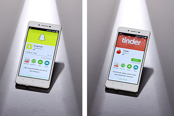 Tinder & Snapchat used to source creative talent