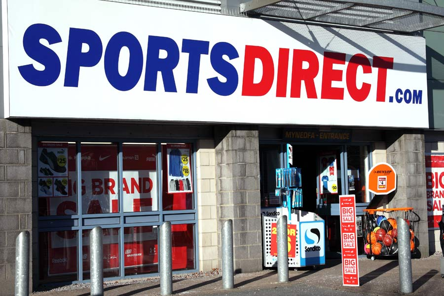 Sports Direct rec agency owes millions to HMRC
