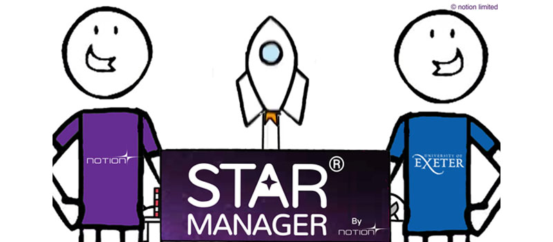 University Of Exeter Set To Create STAR® Managers In An Out Of This World Partnership With Notion