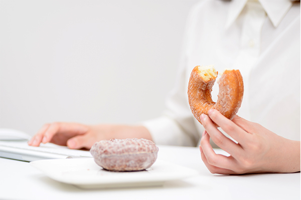 UK employees use food to deal with stress