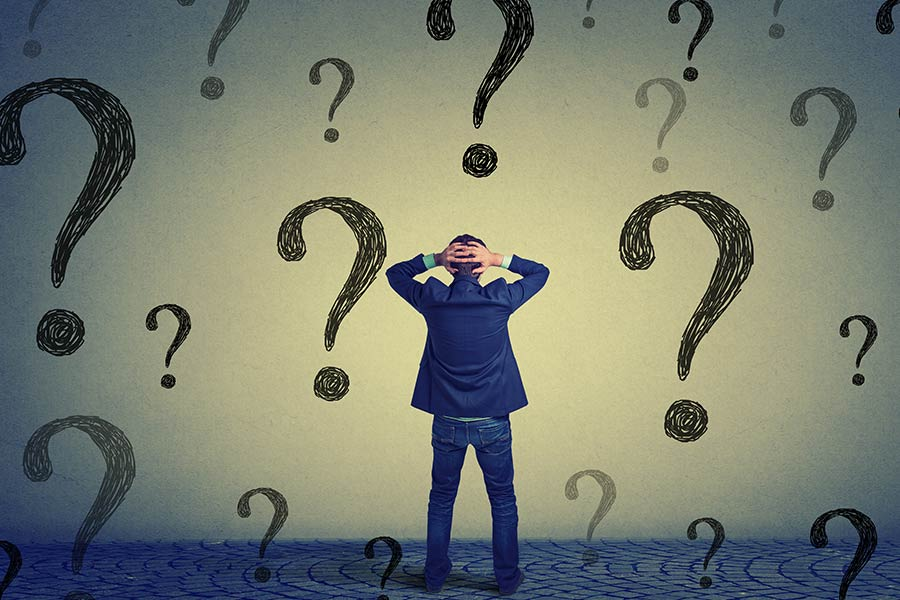 How to deal with bizarre employee questions