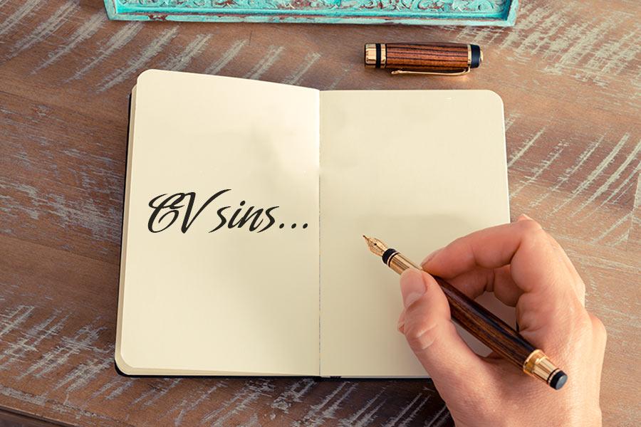 Worst CV sins revealed