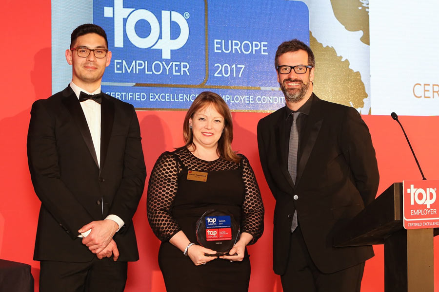 Top employers for staff offerings revealed