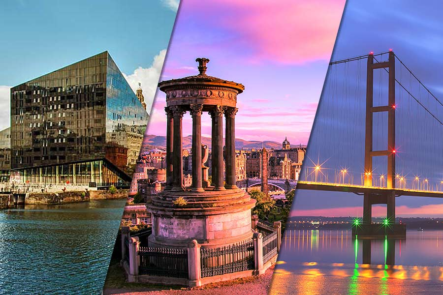 Top 10 UK cities for recruiters to work in