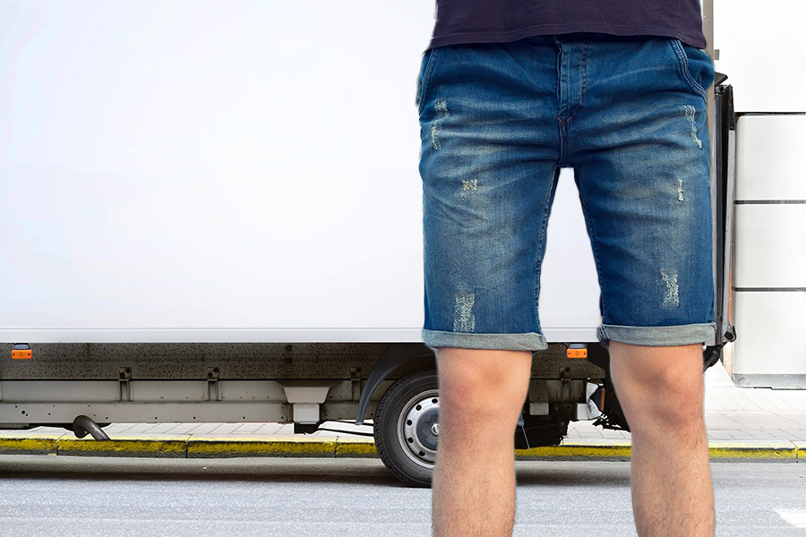 Worker sent home for wearing shorts on hottest day of the year