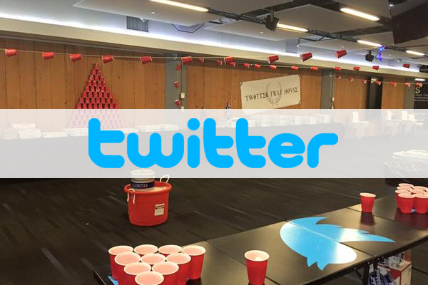 Twitter under fire for hosting office frat party