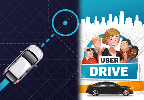 Uber launches video game to recruit minicab drivers