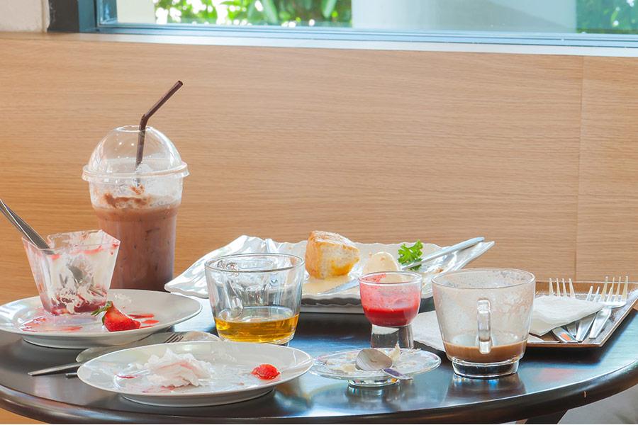Waitrose staff allegedly suspended after eating leftover food