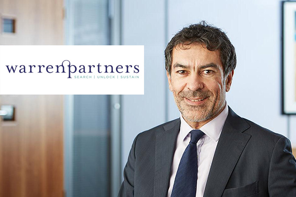 Warren Partners announce appointment of new Chair