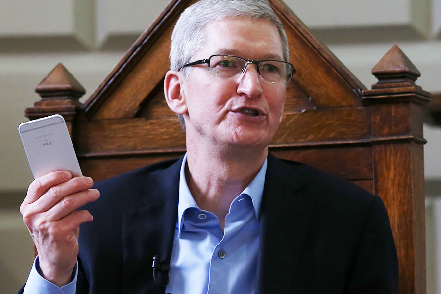 Why was Tim Cook irritated by this question on strategy?