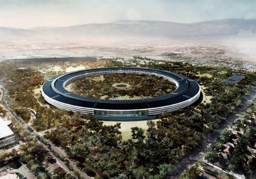 Apple releases designs for 'futuristic' headquarters