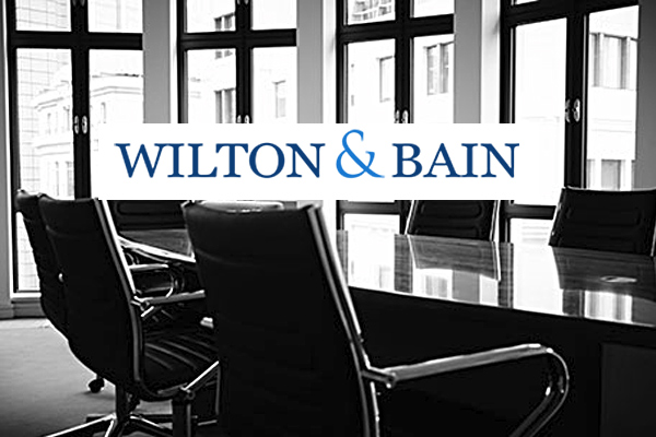 Wilton & Bain Group announce Managing Partner