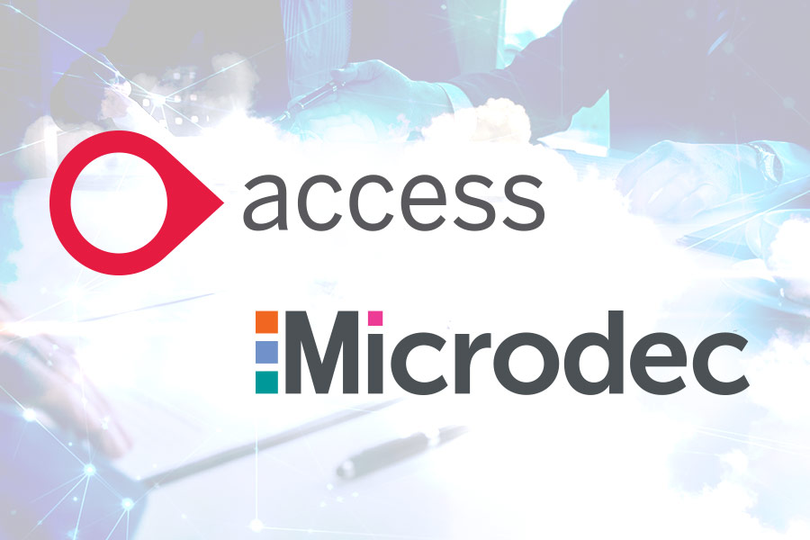 Access acquires software supplier Microdec