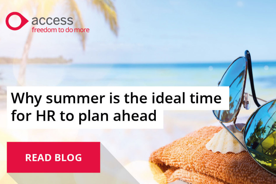 Why summer is the ideal time for HR to plan ahead