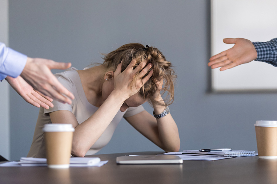 A guide on how to handle an employee who is off with work related stress