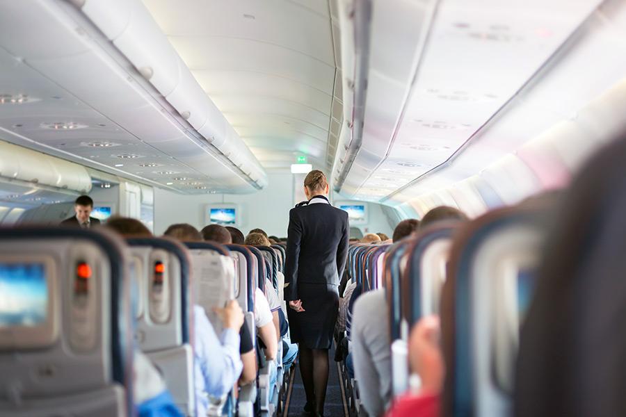 Female cabin crew member wins discrimination case