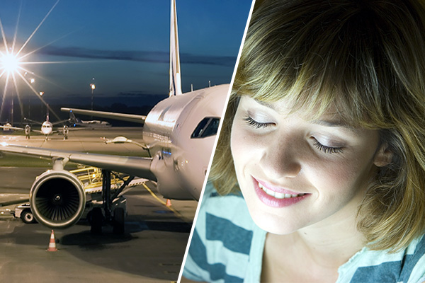 Airport staff use light therapy to improve wellbeing