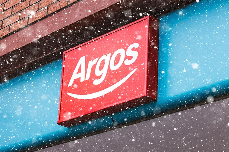 Argos boss slashed festive employee bonus