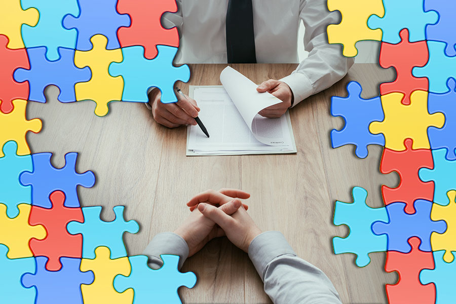 How can recruiters help candidates with autism?