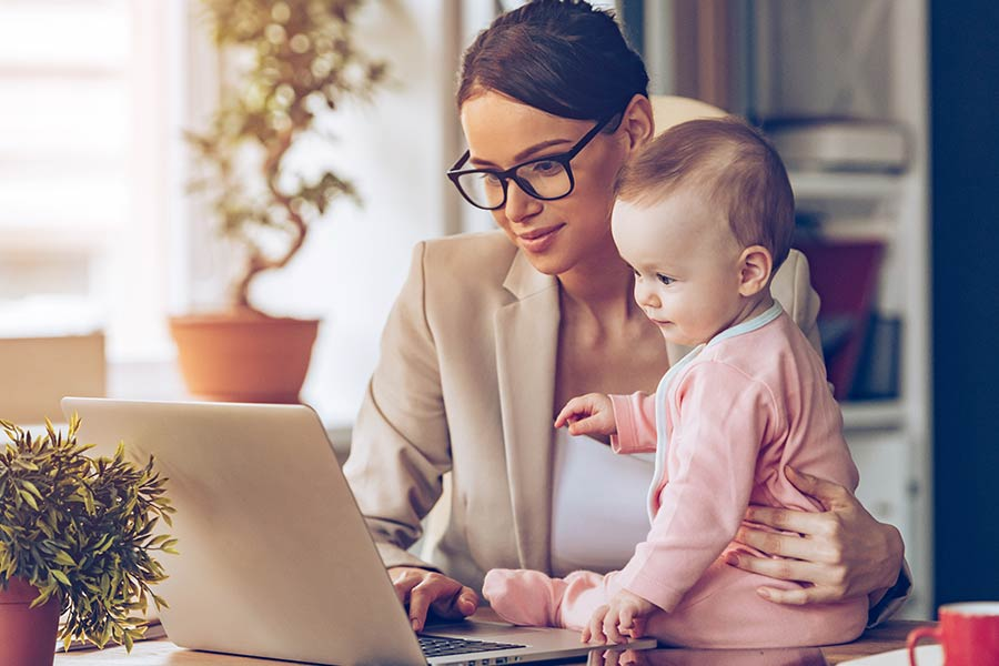 Why you should bring your baby to work