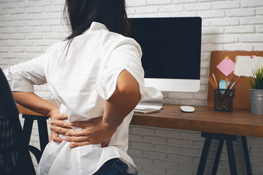 Tips to prevent bad posture while working from home