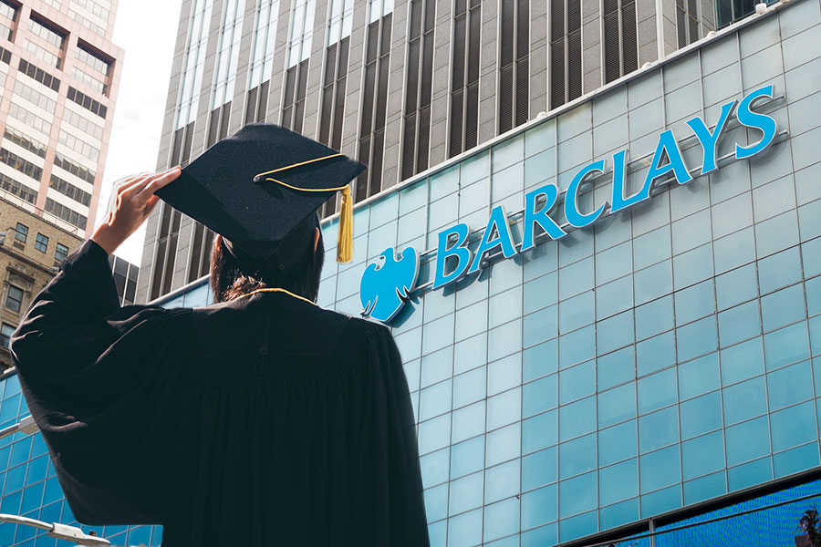 Barclays offers new graduates £550 to tackle interview costs