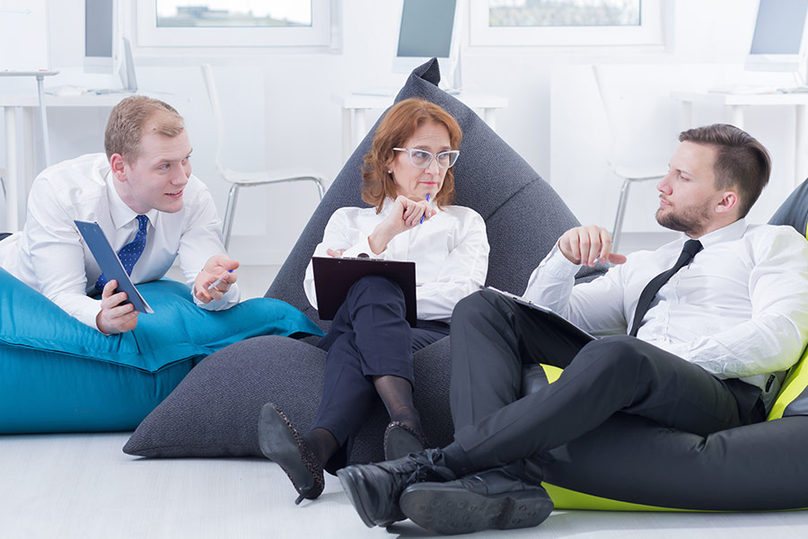 Bean bags aren't the way to retain employees say CEOs