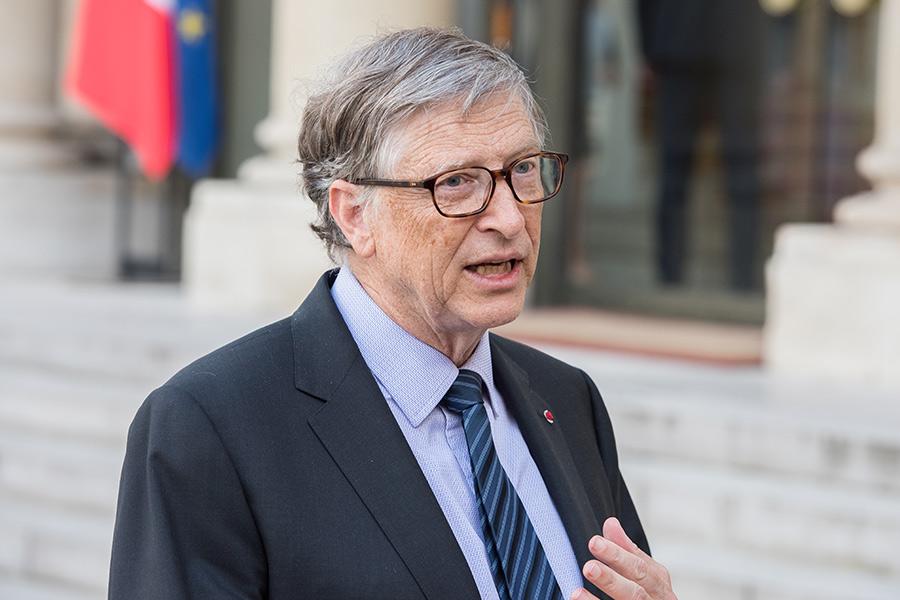 Bill Gates talks COVID conspiracies