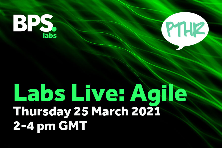 Agile - Thursday 25th March, 2-4 pm GMT