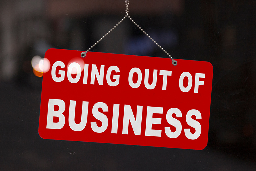 1,000 businesses closing every day, here's what they have in common