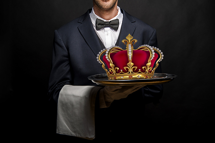 Could you recruit a butler fit for royalty?