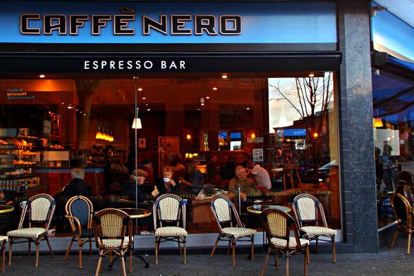 Caffè Nero scraps free staff lunch blaming living wage hike